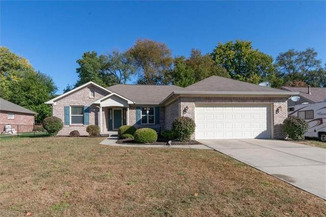 3318 Shady Maple Way, Indianapolis, IN 46227 (MLS #21743206) :: Anthony Robinson & AMR Real Estate Group LLC