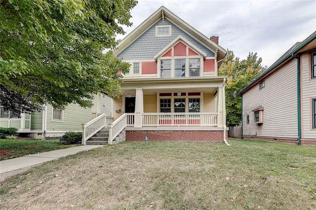 1903 N New Jersey Street, Indianapolis, IN 46202 (MLS #21743211) :: David Brenton's Team