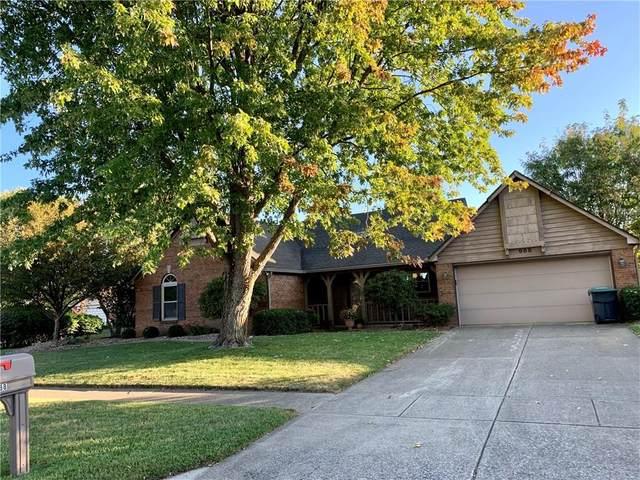 988 Spring Meadow Drive, Greenwood, IN 46143 (MLS #21743287) :: The ORR Home Selling Team