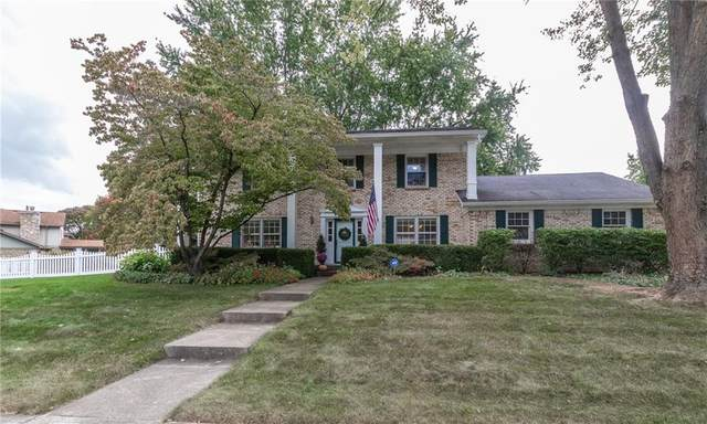 3601 Bridger Drive N, Carmel, IN 46033 (MLS #21743351) :: Mike Price Realty Team - RE/MAX Centerstone