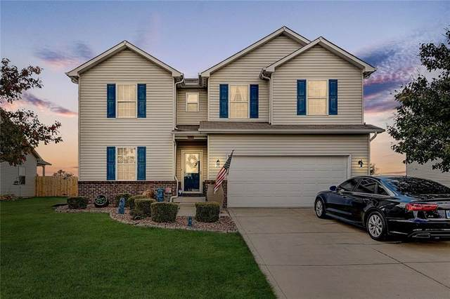 529 Redwood Drive, Pendleton, IN 46064 (MLS #21743383) :: Richwine Elite Group