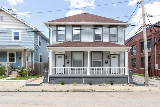 1026 Orange Street, Indianapolis, IN 46203 (MLS #21743452) :: The ORR Home Selling Team