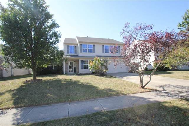 606 Thomas Point Drive, Fortville, IN 46040 (MLS #21743548) :: Mike Price Realty Team - RE/MAX Centerstone