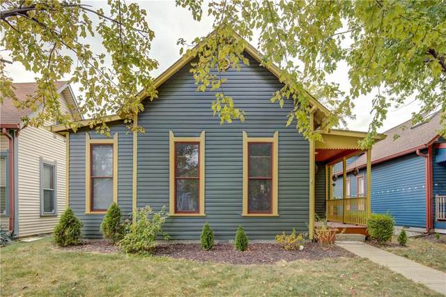 906 Fayette Street, Indianapolis, IN 46202 (MLS #21743565) :: Mike Price Realty Team - RE/MAX Centerstone