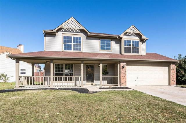 1934 Harvest Meadows Drive S, Westfield, IN 46074 (MLS #21743696) :: The Evelo Team
