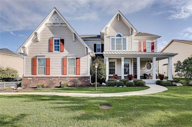 10588 Morningtide Circle, Fishers, IN 46038 (MLS #21743733) :: AR/haus Group Realty