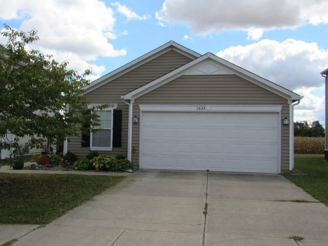 1635 Carriage Circle, Shelbyville, IN 46176 (MLS #21743775) :: AR/haus Group Realty