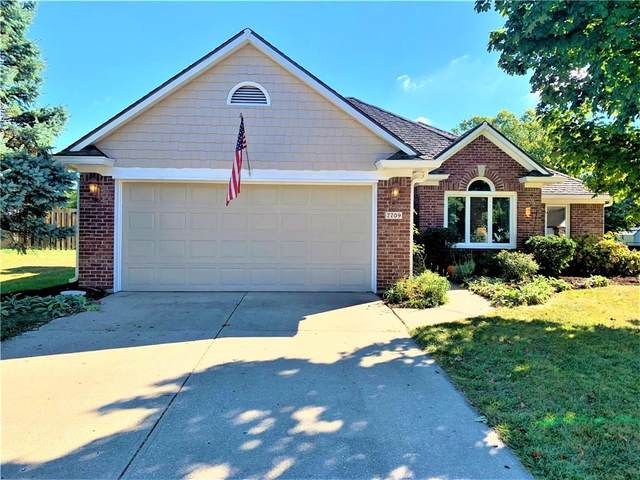 7709 Geist Estates Drive, Indianapolis, IN 46236 (MLS #21743834) :: Mike Price Realty Team - RE/MAX Centerstone