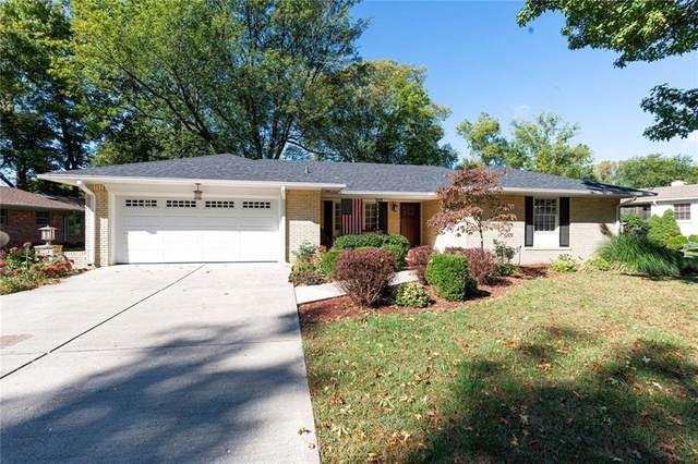 8338 Hi Vu Dr, Indianapolis, IN 46227 (MLS #21743900) :: AR/haus Group Realty