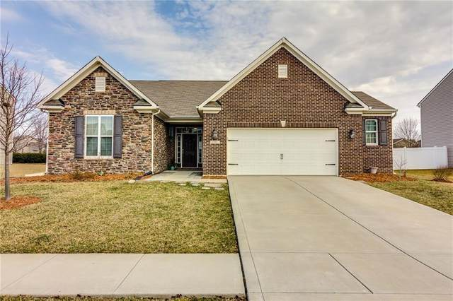 1391 Tuscany Drive, Greenwood, IN 46143 (MLS #21743910) :: AR/haus Group Realty