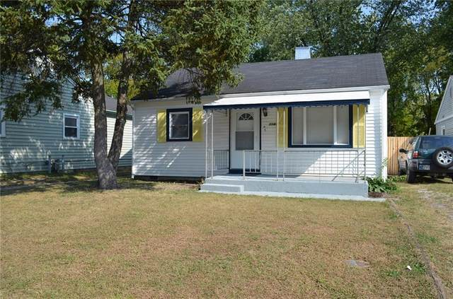 1141 N Goodlet Avenue, Indianapolis, IN 46222 (MLS #21743947) :: The ORR Home Selling Team