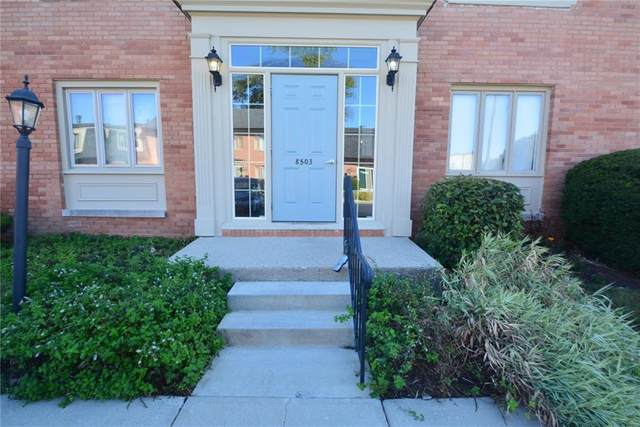 8503 Canterbury Square W A, Indianapolis, IN 46260 (MLS #21743949) :: Richwine Elite Group