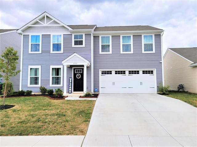 332 Dietz Drive, Greenwood, IN 46143 (MLS #21743953) :: Heard Real Estate Team | eXp Realty, LLC
