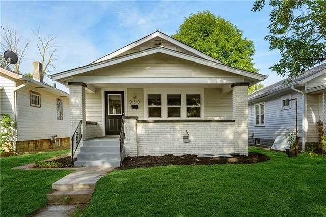 950 N Bosart Avenue, Indianapolis, IN 46201 (MLS #21743960) :: AR/haus Group Realty