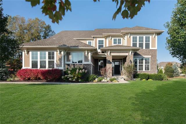 6484 Concord Drive, Zionsville, IN 46077 (MLS #21744070) :: The ORR Home Selling Team