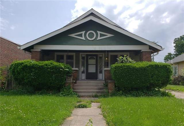 451 N Emerson Avenue, Indianapolis, IN 46219 (MLS #21744080) :: Anthony Robinson & AMR Real Estate Group LLC