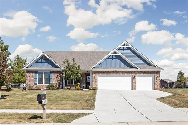 4674 W Waterway Drive, New Palestine, IN 46163 (MLS #21744113) :: Mike Price Realty Team - RE/MAX Centerstone