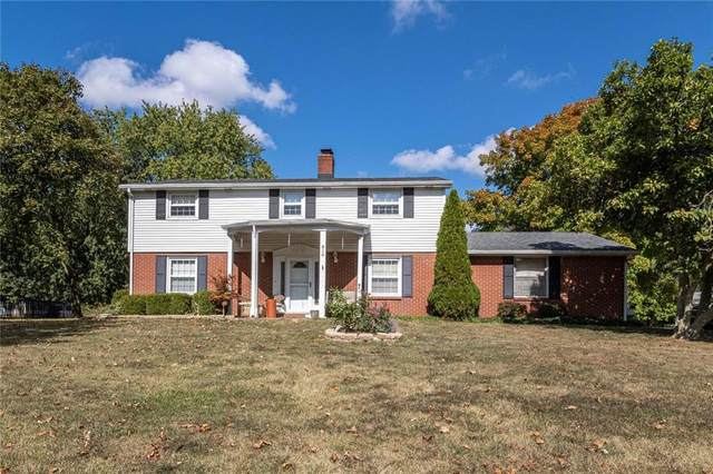 814 Coach Road, Indianapolis, IN 46227 (MLS #21744191) :: The ORR Home Selling Team
