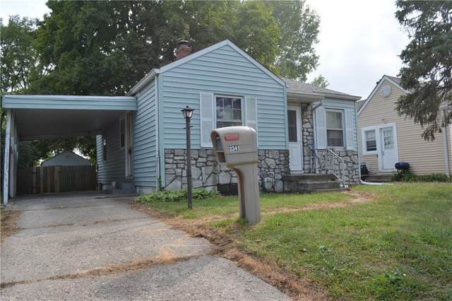 2341 Calhoun Street, Indianapolis, IN 46203 (MLS #21744201) :: Mike Price Realty Team - RE/MAX Centerstone