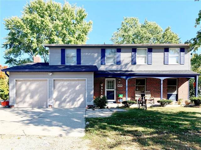 505 Brentwood Drive W, Plainfield, IN 46168 (MLS #21744209) :: Mike Price Realty Team - RE/MAX Centerstone