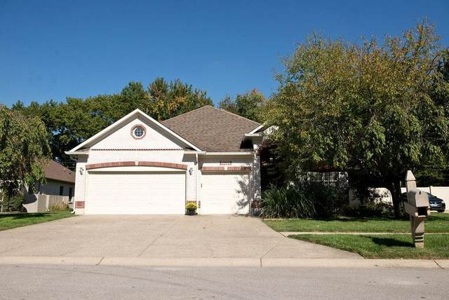 5460 Red Hawk Lane, Greenwood, IN 46142 (MLS #21744236) :: The ORR Home Selling Team