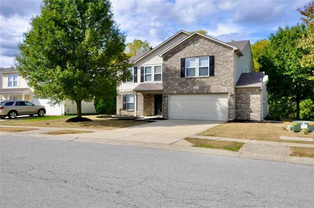 8736 Belle Union Drive, Camby, IN 46113 (MLS #21744246) :: The ORR Home Selling Team