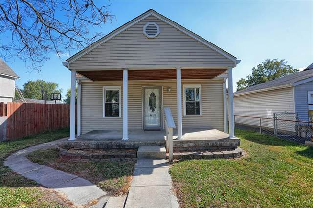 619 S Whitcomb Avenue, Indianapolis, IN 46241 (MLS #21744470) :: The Evelo Team