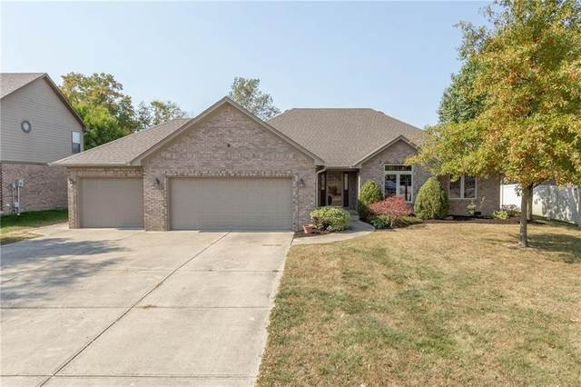 3850 S Cedar Creek Way, New Palestine, IN 46163 (MLS #21744530) :: Mike Price Realty Team - RE/MAX Centerstone