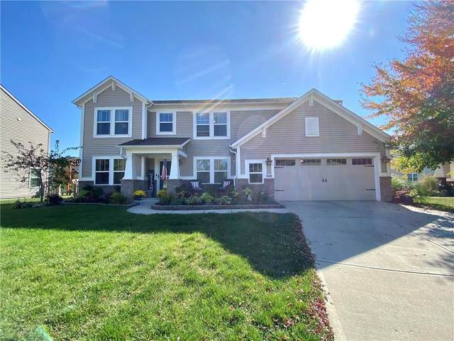 11125 Titania Court, Noblesville, IN 46060 (MLS #21744577) :: Mike Price Realty Team - RE/MAX Centerstone