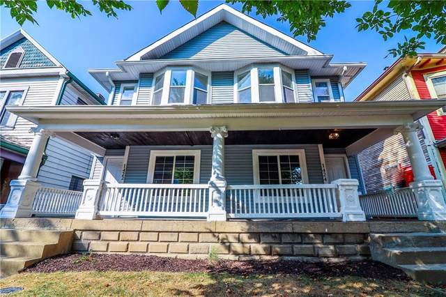 1424 E Ohio Street, Indianapolis, IN 46201 (MLS #21744620) :: Mike Price Realty Team - RE/MAX Centerstone