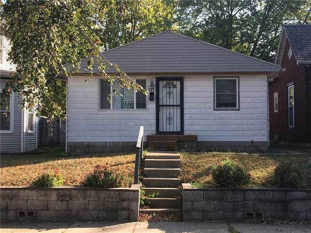 721 N Sheffield Avenue, Indianapolis, IN 46222 (MLS #21744691) :: The Evelo Team
