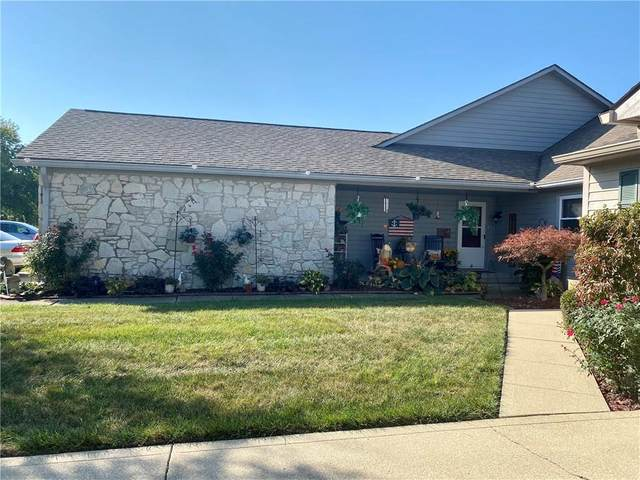 1200 Timber Creek Lane, Greenwood, IN 46142 (MLS #21744701) :: David Brenton's Team