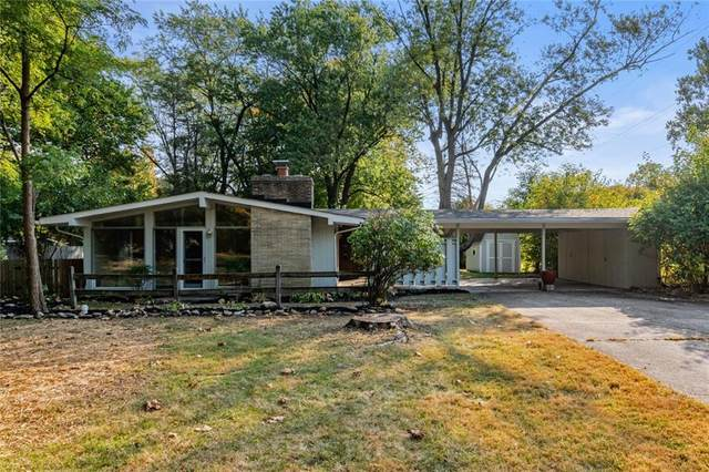 9201 N Washington Boulevard, Indianapolis, IN 46240 (MLS #21744731) :: The ORR Home Selling Team