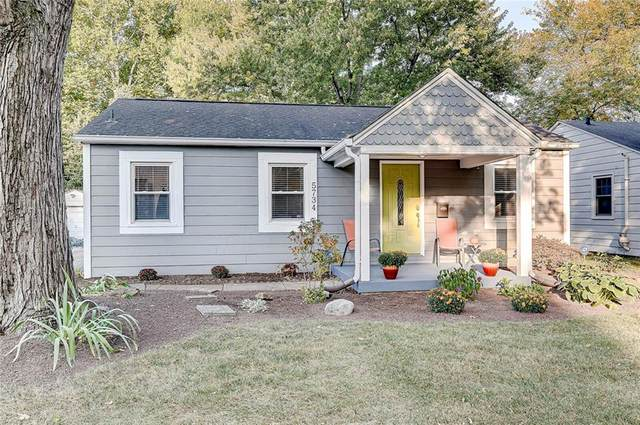 5734 Rosslyn Avenue, Indianapolis, IN 46220 (MLS #21744735) :: The ORR Home Selling Team
