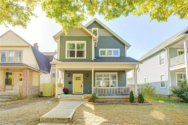2852 Washington Boulevard, Indianapolis, IN 46205 (MLS #21744821) :: The ORR Home Selling Team