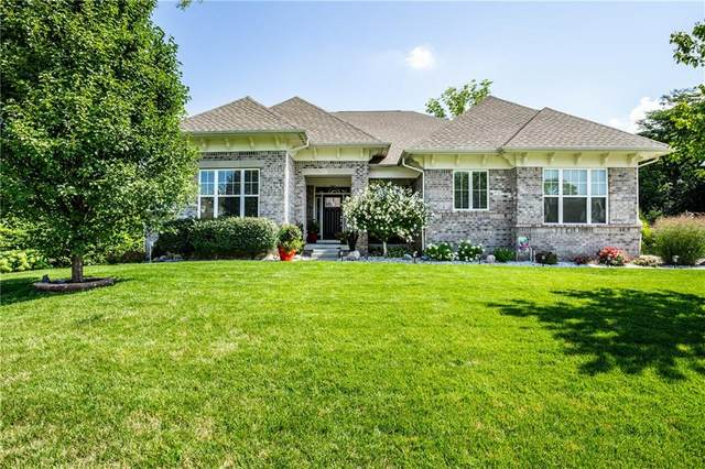 6337 Blackstone Drive, Zionsville, IN 46077 (MLS #21744824) :: The ORR Home Selling Team