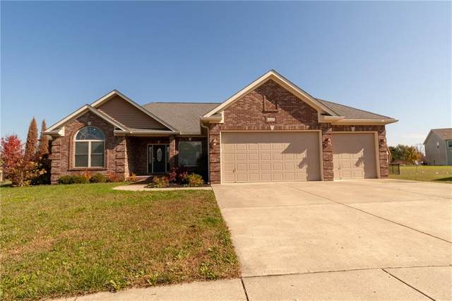 2750 Lupine Court, Columbus, IN 47201 (MLS #21744891) :: The Evelo Team