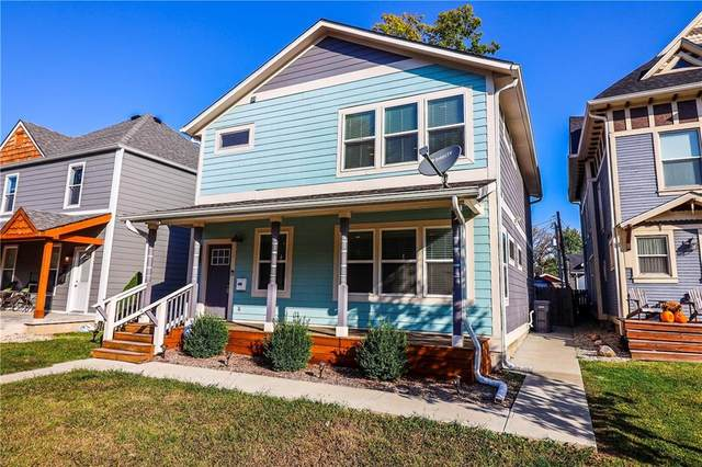 1206 Pleasant Street, Indianapolis, IN 46203 (MLS #21744967) :: The ORR Home Selling Team