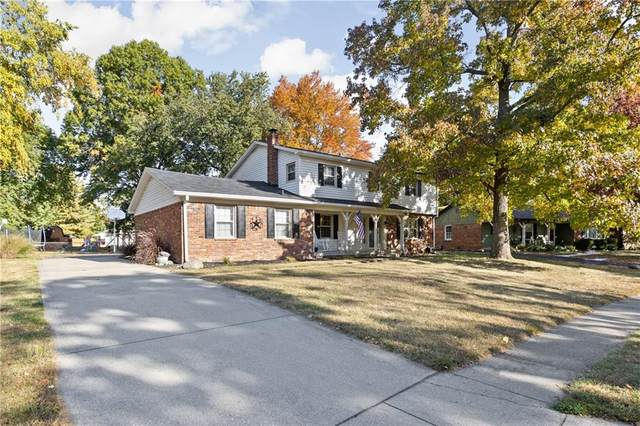 8808 Ellington Drive, Indianapolis, IN 46234 (MLS #21745043) :: Richwine Elite Group