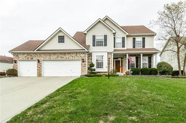 8350 Bent Oak Circle, Indianapolis, IN 46236 (MLS #21745189) :: AR/haus Group Realty