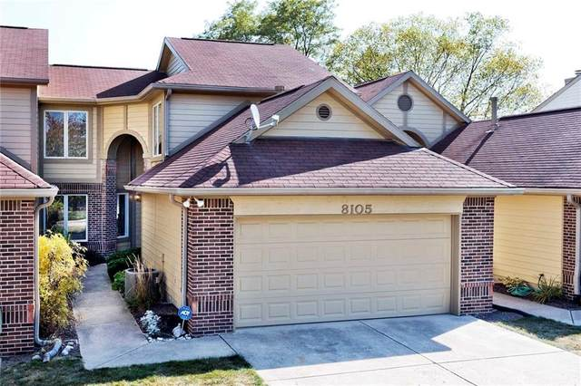 8105 Farmhurst Lane, Indianapolis, IN 46236 (MLS #21745216) :: David Brenton's Team