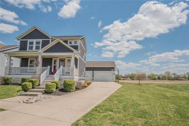 1365 Turner Trace Place S, Avon, IN 46123 (MLS #21745228) :: The Evelo Team