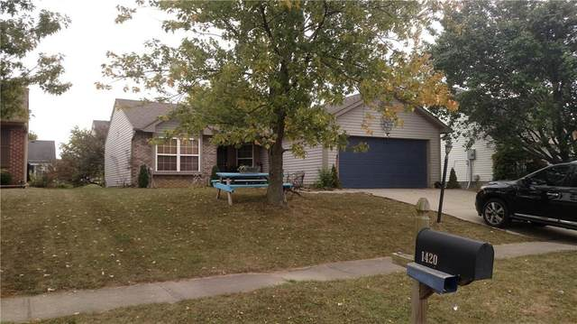 1427 Blue Brook Way, Greenwood, IN 46143 (MLS #21745237) :: The ORR Home Selling Team