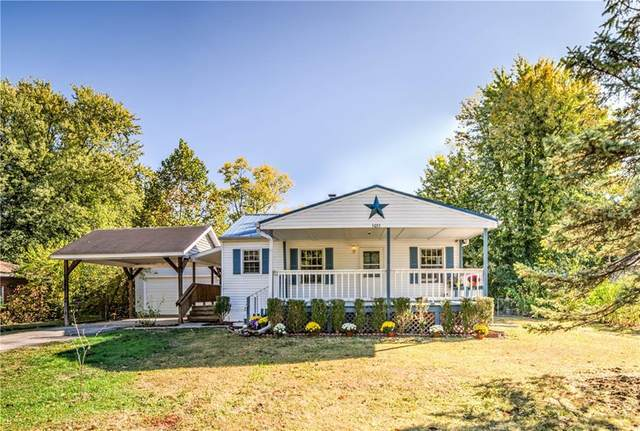 5033 Manker Street, Indianapolis, IN 46227 (MLS #21745253) :: The ORR Home Selling Team