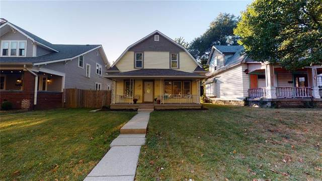 1232 N Oakland Avenue, Indianapolis, IN 46201 (MLS #21745264) :: Mike Price Realty Team - RE/MAX Centerstone
