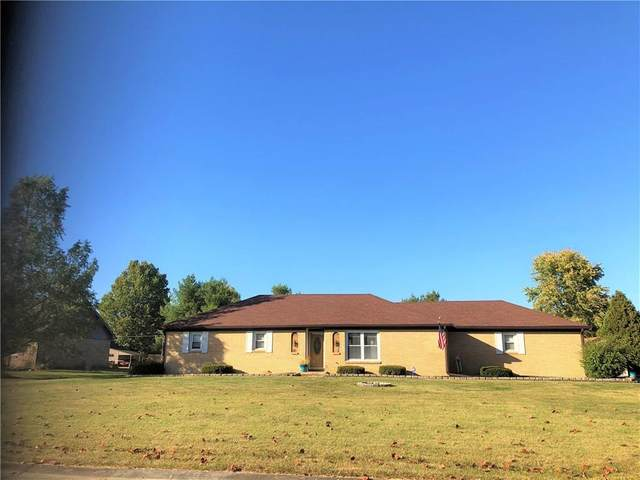 3366 W Sunset Drive S, Greenfield, IN 46140 (MLS #21745467) :: Richwine Elite Group