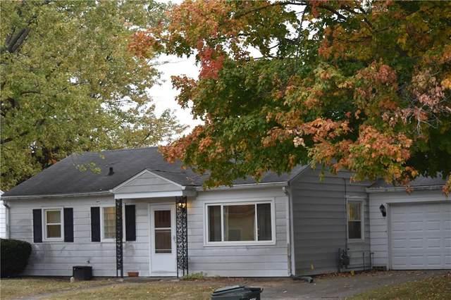210 Allen Lane, Greenfield, IN 46140 (MLS #21745498) :: The ORR Home Selling Team
