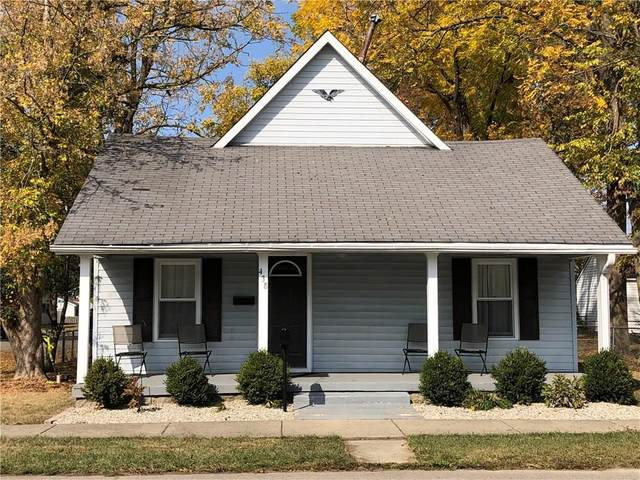 438 W Fifth Street, Greenfield, IN 46140 (MLS #21745499) :: Heard Real Estate Team | eXp Realty, LLC