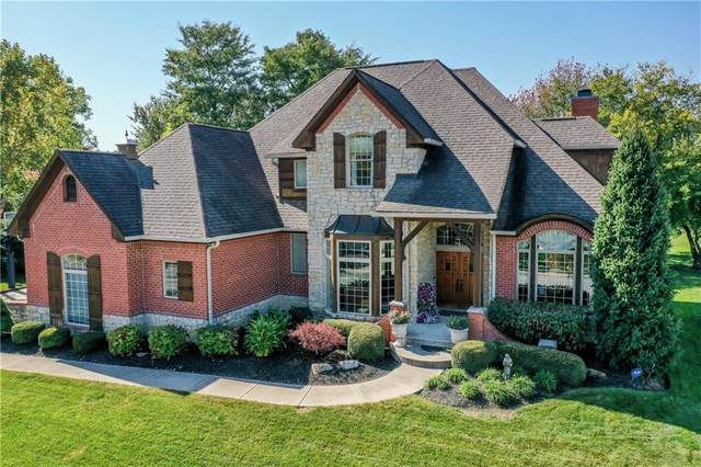 10108 Muirfield Trace, Fishers, IN 46037 (MLS #21745572) :: Mike Price Realty Team - RE/MAX Centerstone