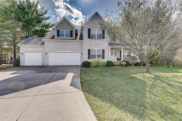 8409 Mesic Court, Indianapolis, IN 46278 (MLS #21745593) :: The ORR Home Selling Team